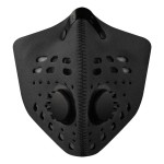 RZ Mask 83368 M1 Neoprene Mask Black REG