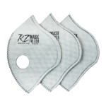 RZ Mask 43620 F3 Filter HEPA with Active Carbon 3-Pack REG
