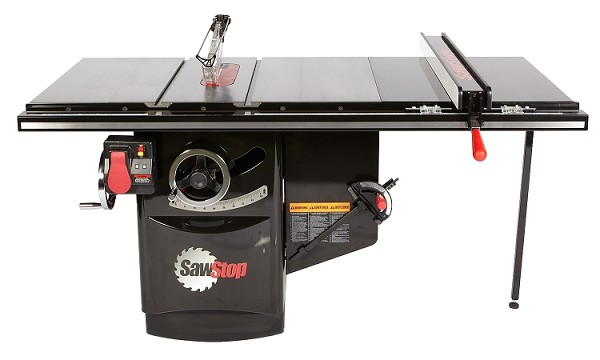 SawStop ICS73480-36 7.5HP, 3ph, 480v Industrial Cabinet Saw With 36