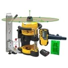 Stabila 05300 LAR120 Green Beam Rotating Interior Laser Kit