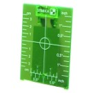 Stabila 07442 Green Magnetic Ceiling Target Plate
