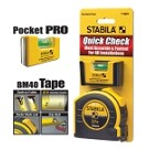 Stabila 11927 Quick Check Pocket Pro Plus 27' Tape